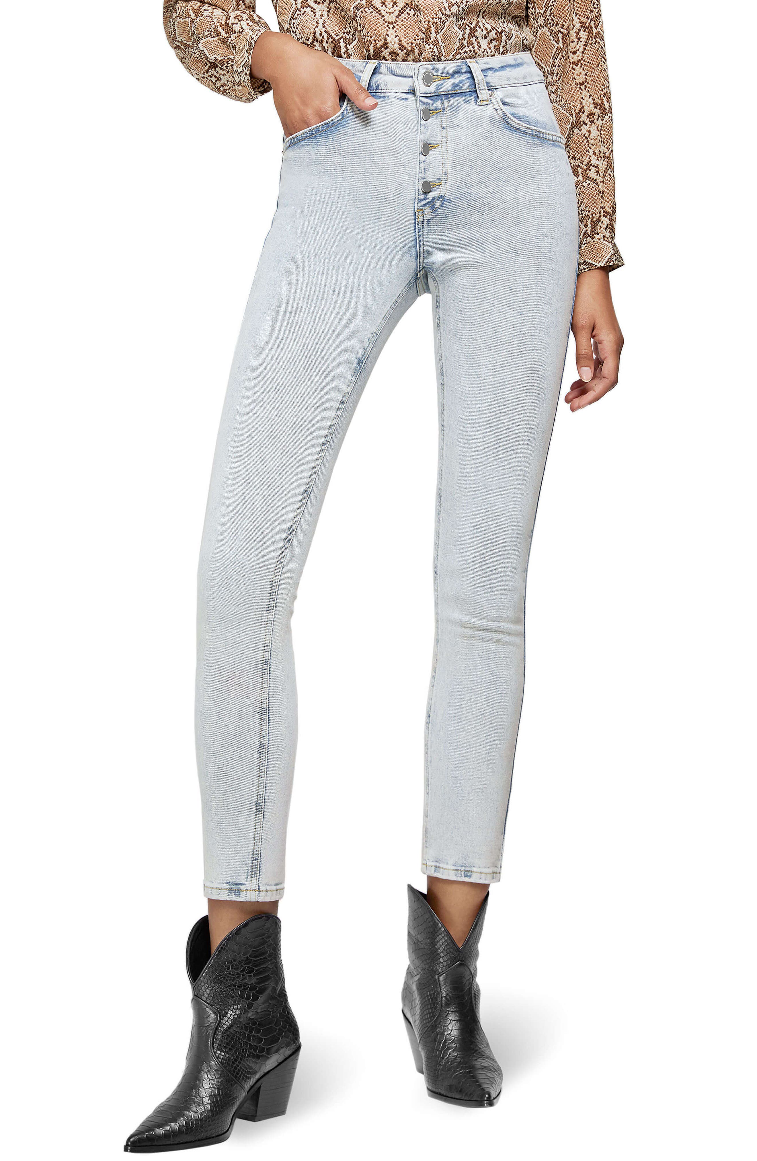 Anine Bing Jeans Frida Button Fly Jeans