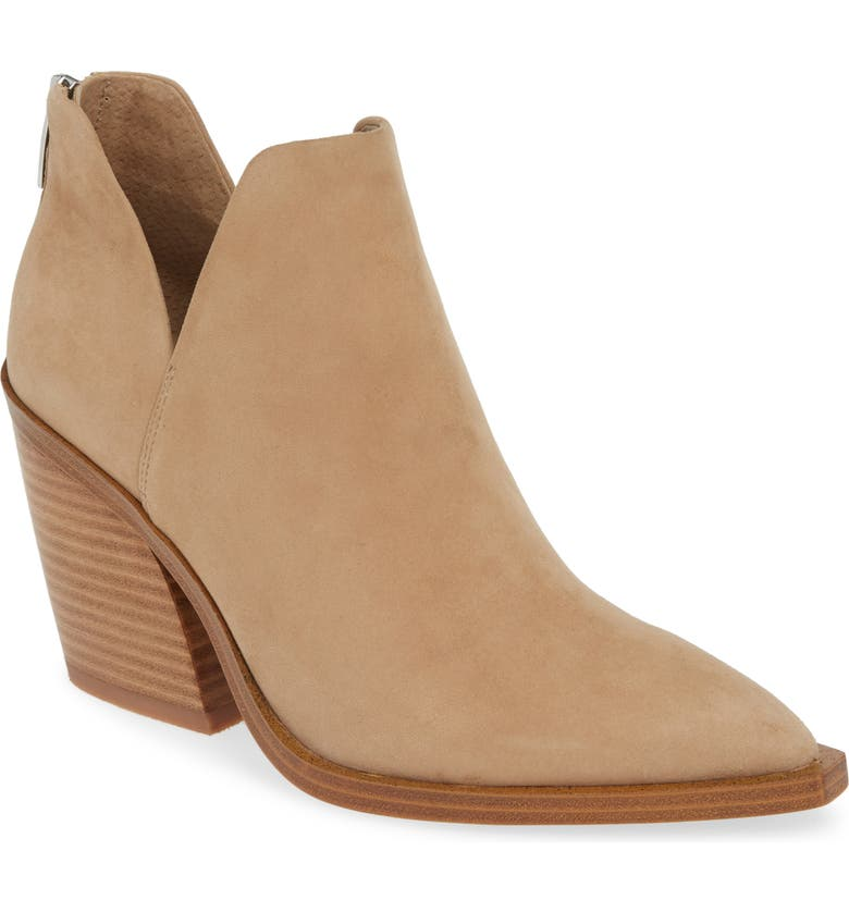 Gigietta Bootie, Main, color, TORTILLA SUEDE