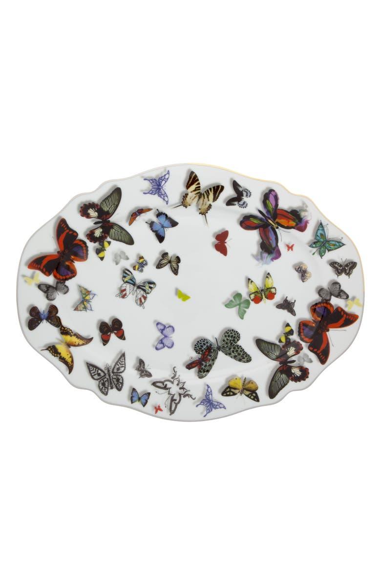 CHRISTIAN LACROIX Butterfly Parade Platter, Main, color, 100