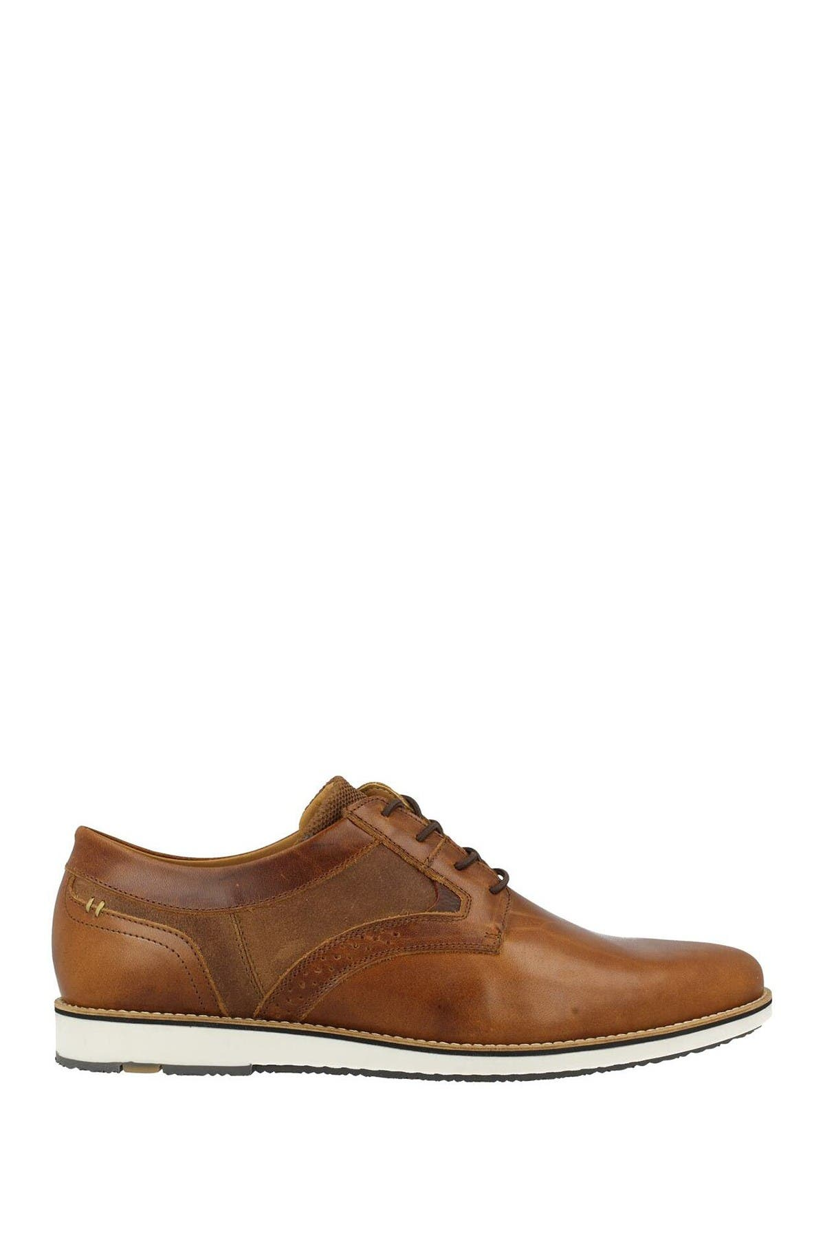 Image of Bullboxer Plain Toe Leather Derby