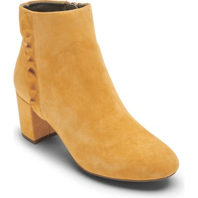 Rockport Total Motion Oaklee Bootie- Yellow