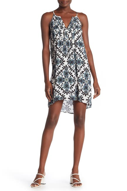 Image of CHANCE Pintuck Pleated High/Low Dress