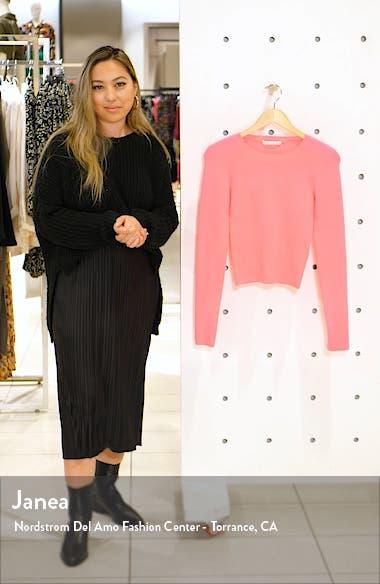 Ciara Ribbed Crop Sweater, sales video thumbnail