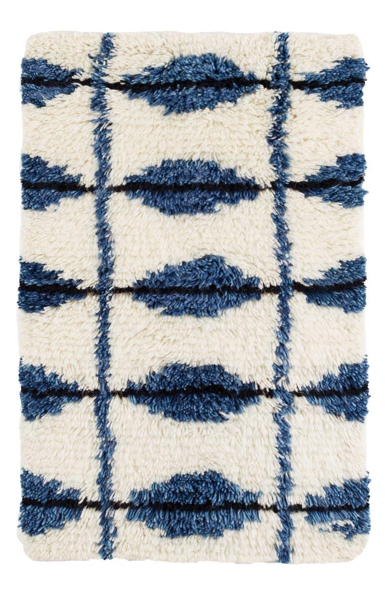 DASH & ALBERT Noma Wool Blend Rug, Main, color, 400