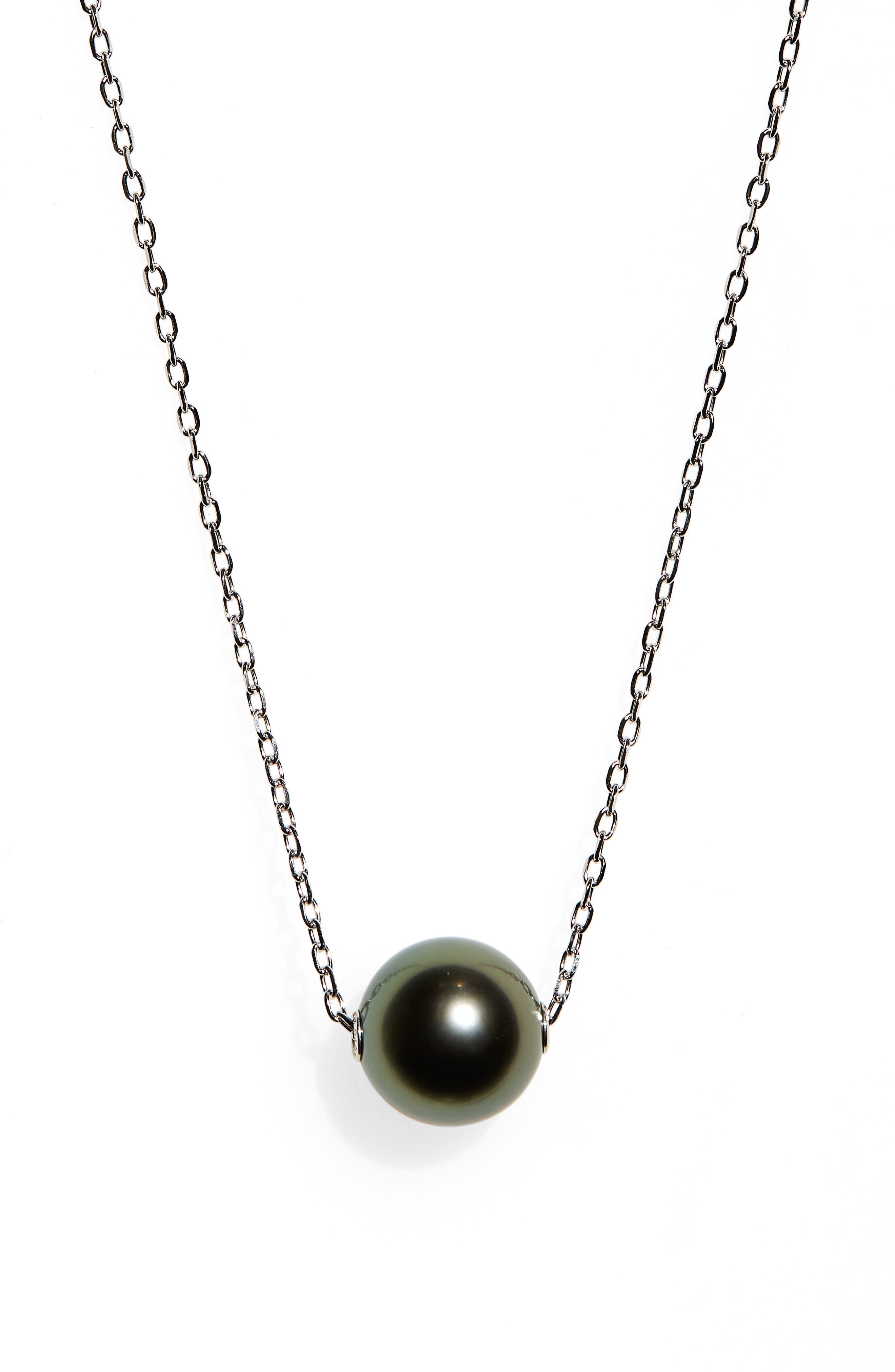 Japan Black Pearl Necklace