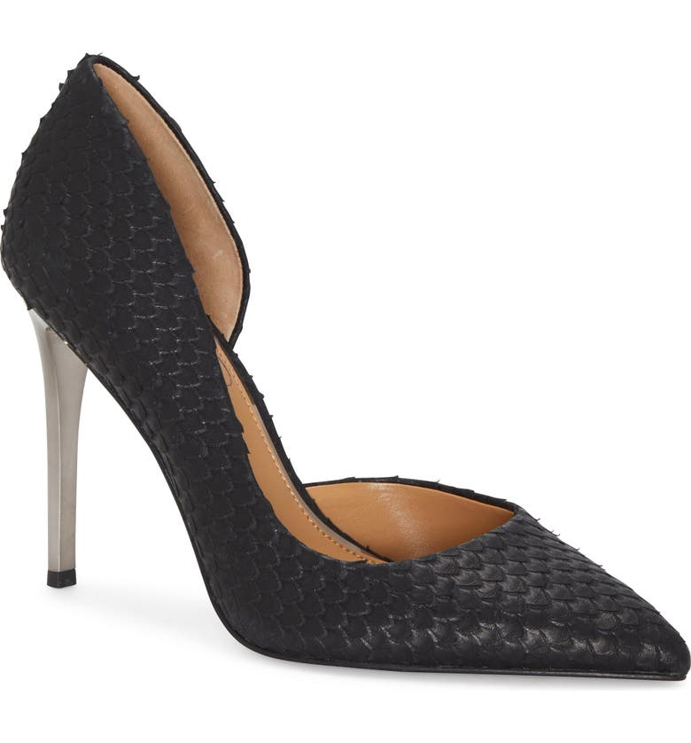 JESSICA SIMPSON Pheona Pump, Main, color, BLACK/ BLACK SUEDE