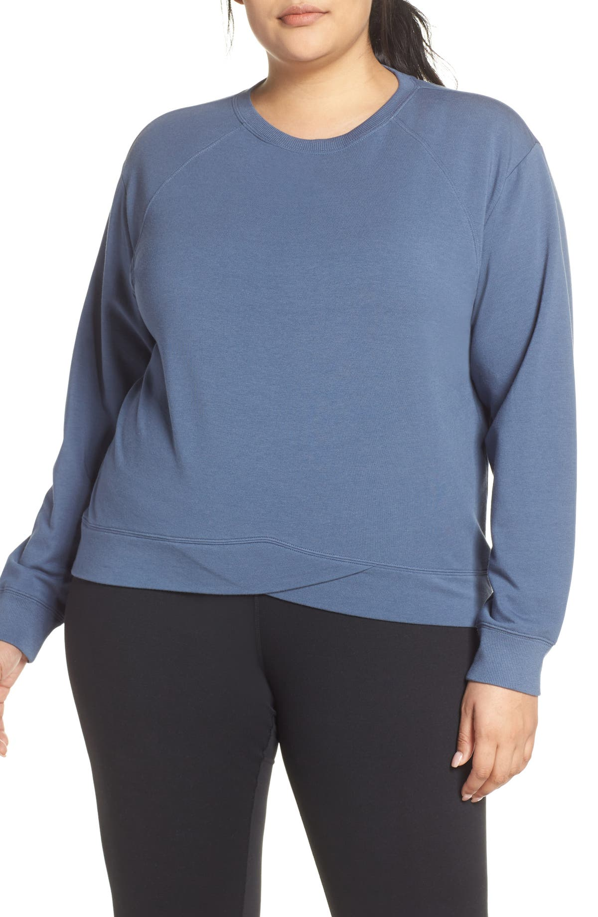 8d8f71a306d67 Zella Uplifted Pullover (Plus Size) | Nordstrom