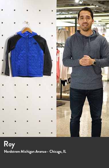 Kids' Quilted Sweater Fleece Hoodie, sales video thumbnail