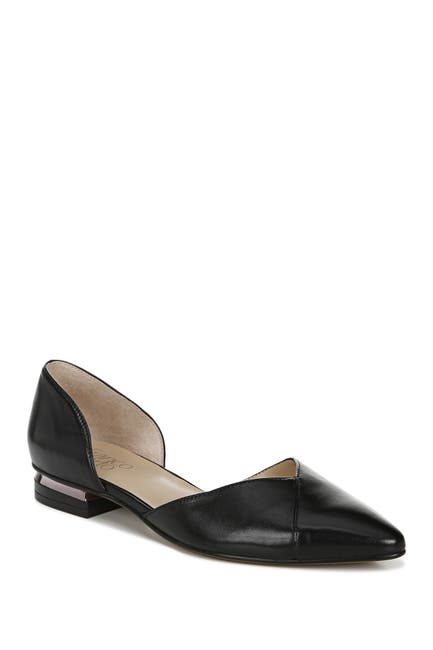 Image of Franco Sarto Sattara Leather d'Orsay Flat