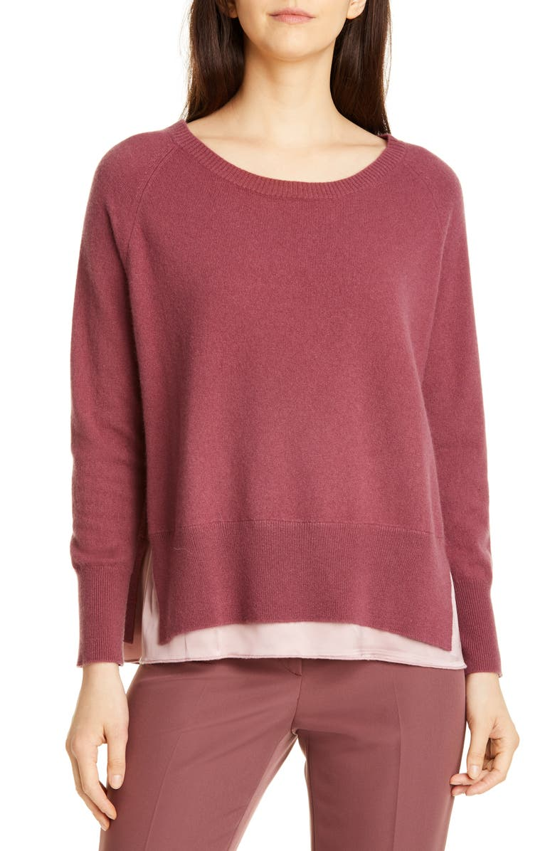 SEVENTY Wool Blend Sweater, Main, color, MAUVE