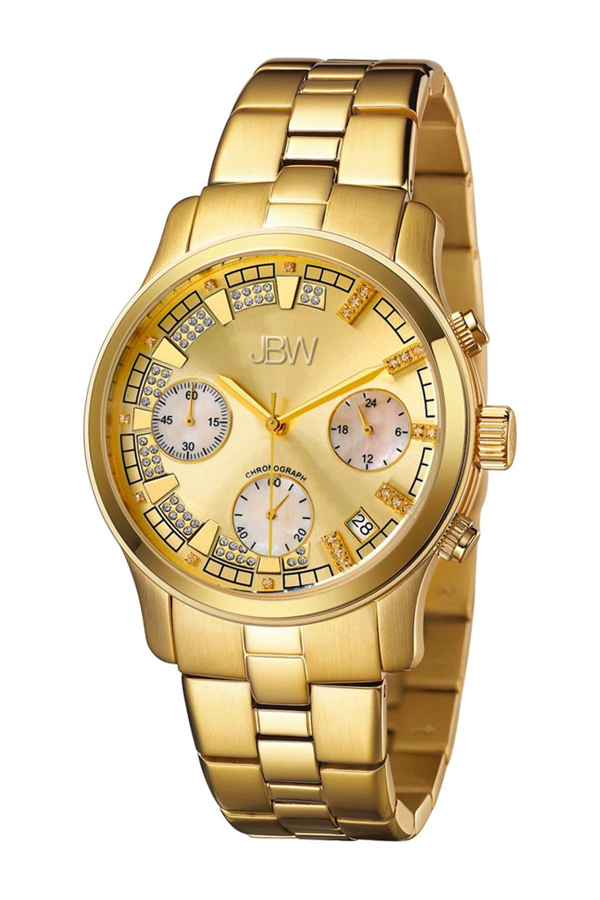 Image of JBW Women's Alessandra Diamond Watch, 38mm - 0.20 ctw