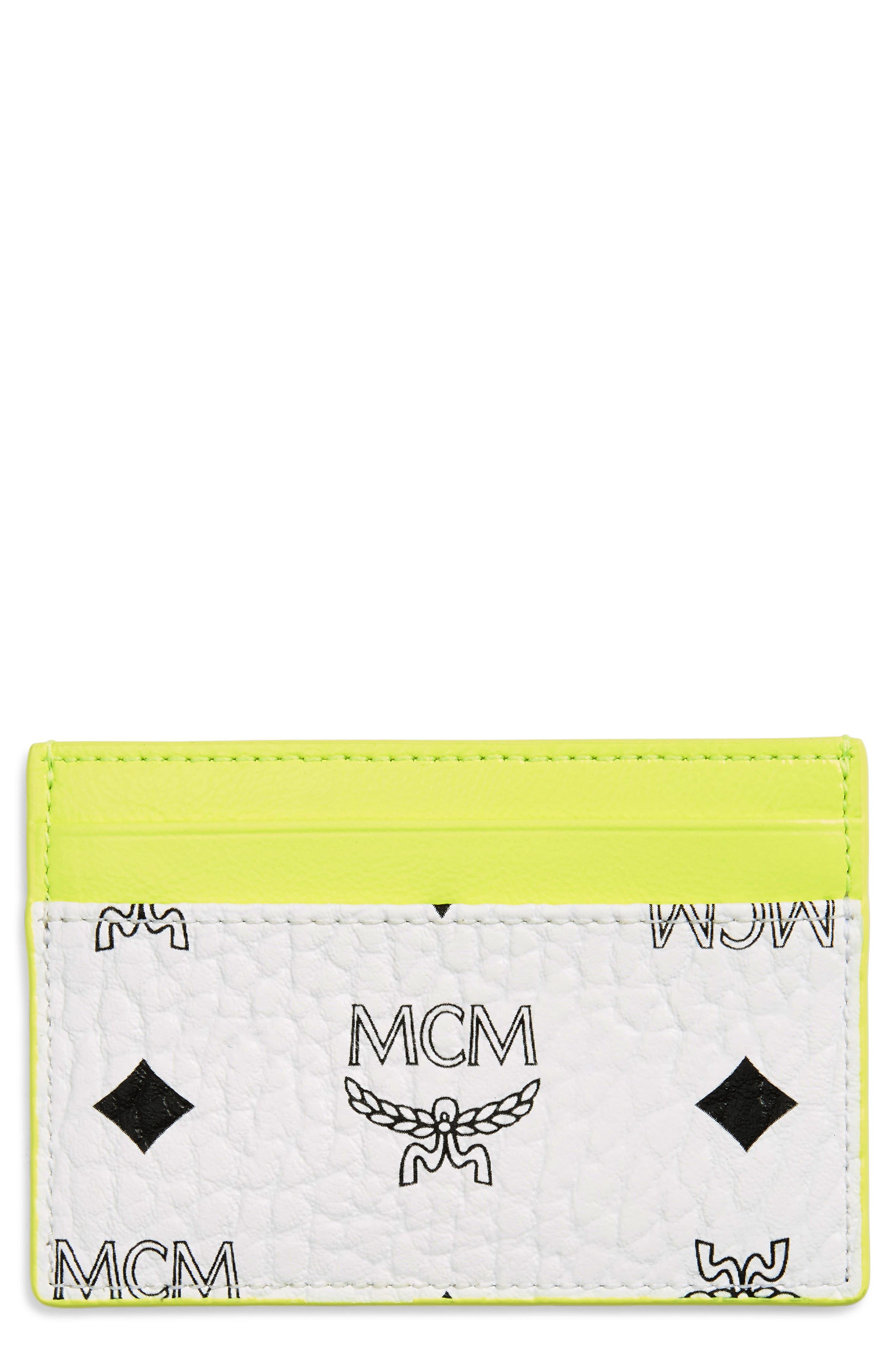 Wilder Visetos Card Case, Main, color, WHITE