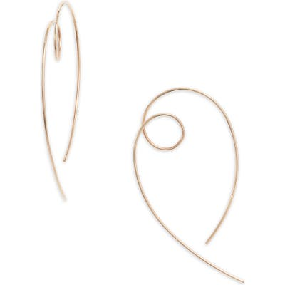 Lana Jewelry Casino Hooked On Loop Hoop Earrings