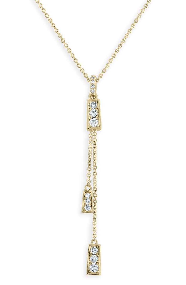 Lulu Dk X Jeff K Kim Mini Pyramid Dangle Necklace