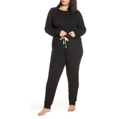 Plus Size Bp. Soft & Cozy Sleepy Pajamas, Black
