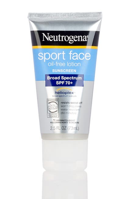 Image of Neutrogena Ultimate Sport Face Oil-free SPF 70+ Sunscreen Lotion