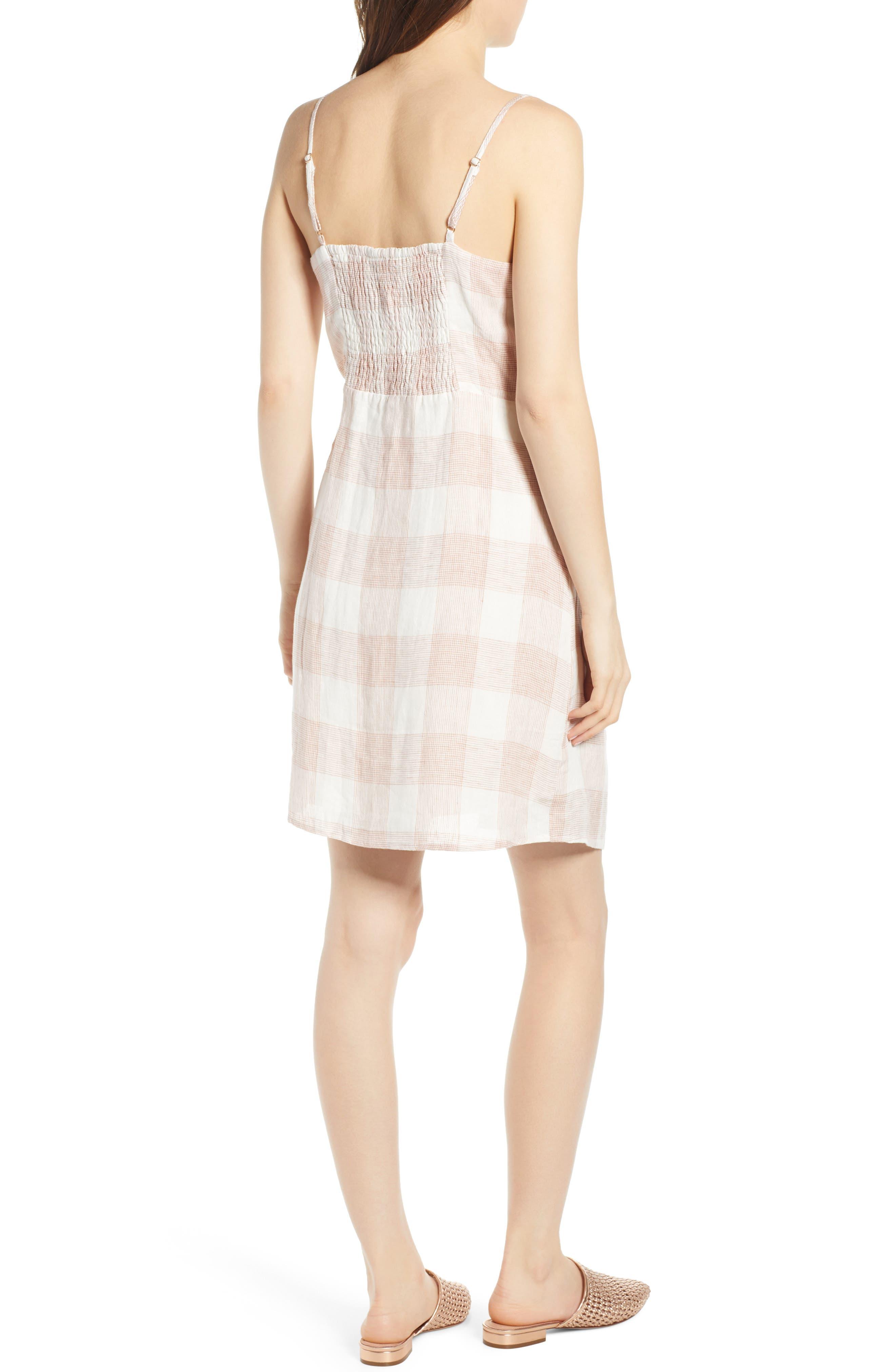 ,                             Whyatt Check Wrap Dress,                             Alternate thumbnail 2, color,                             CHECK