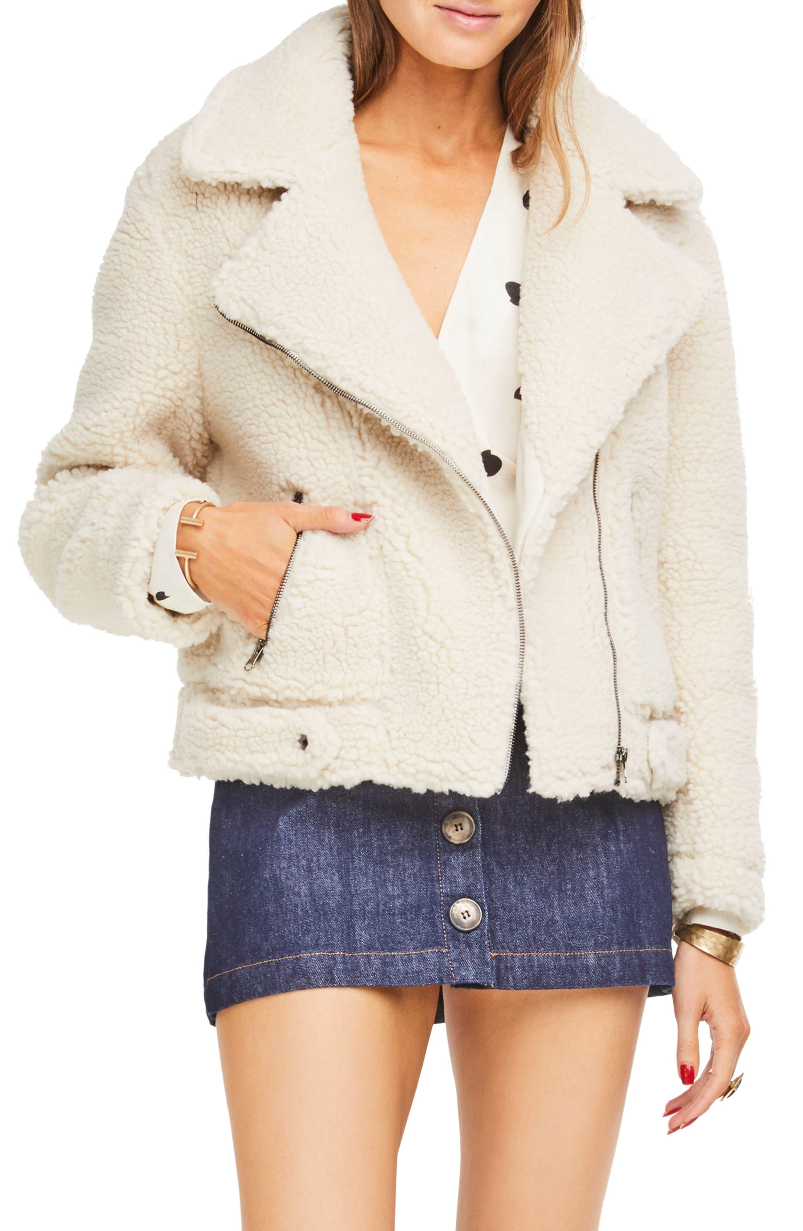 ,                             Brooklyn High Pile Fleece Jacket,                             Main thumbnail 5, color,                             900