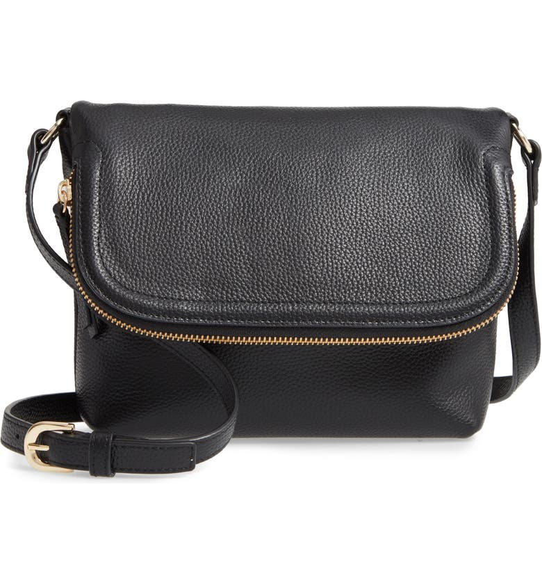 Annie Leather Crossbody Bag