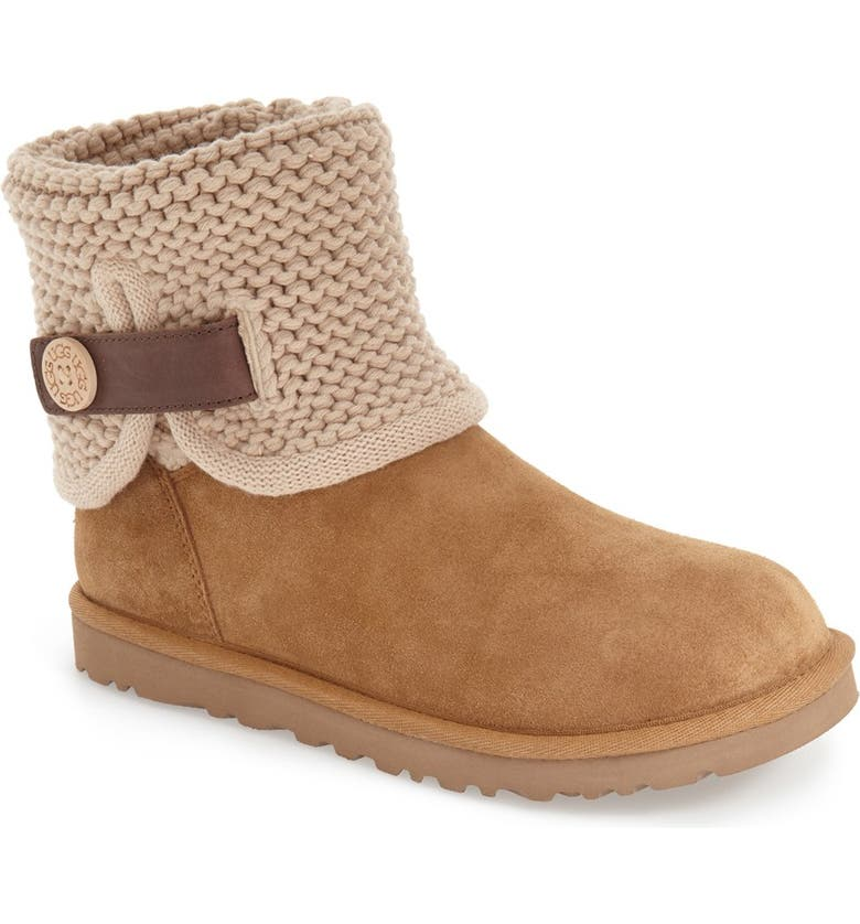 aeb25d90f47 Shaina Knit Cuff Bootie