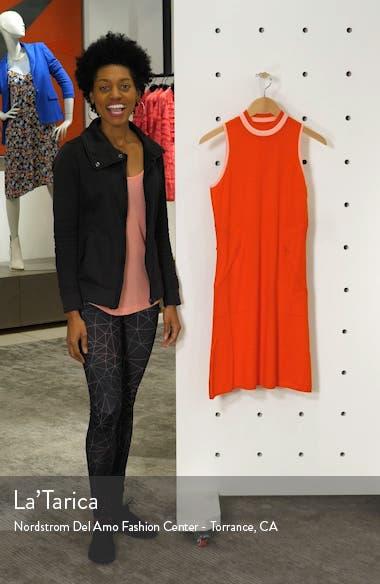 Sleeveless Mock Neck Golf Dress, sales video thumbnail