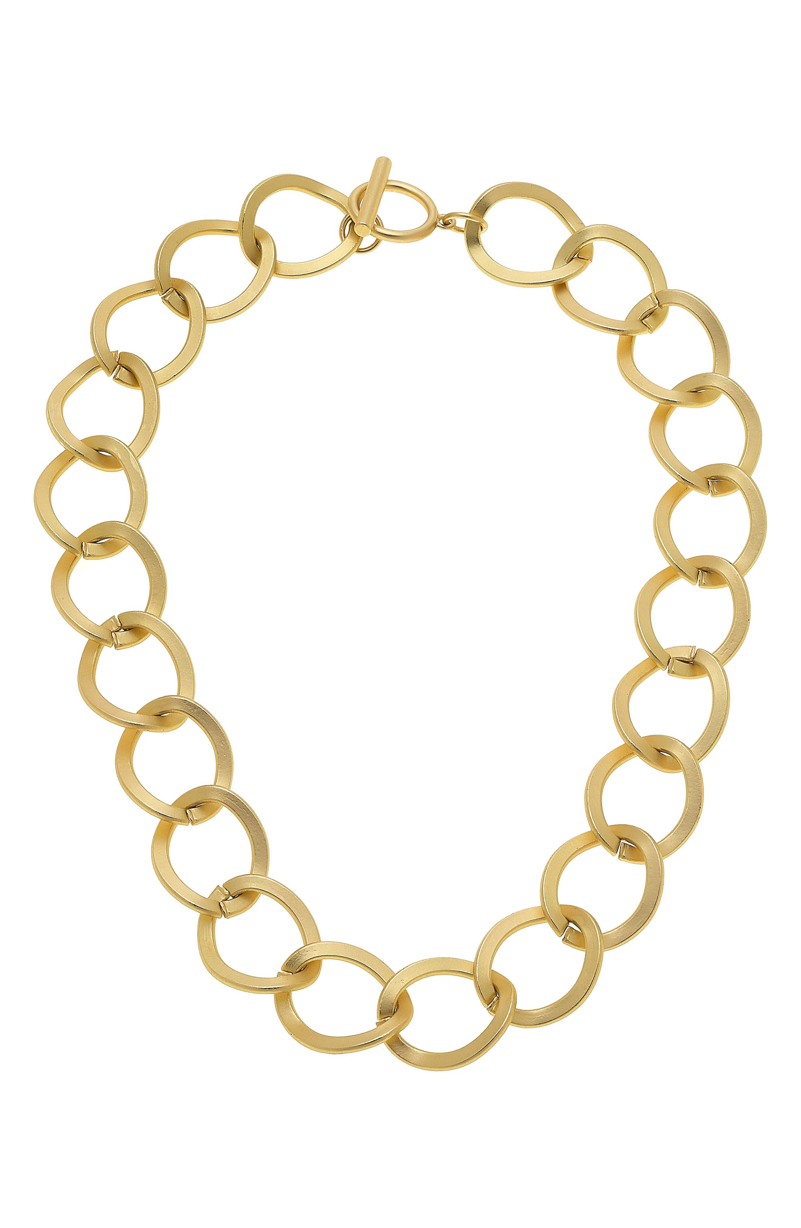 Linnea Statement Chain Necklace