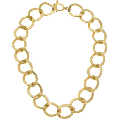 Canvas Jewelry Linnea Statement Chain Necklace