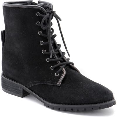 Blondo Prima Waterproof Lace-Up Boot- Black