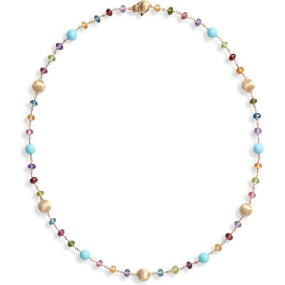 Marco Bicego Africa Semiprecious Stone Collar Necklace