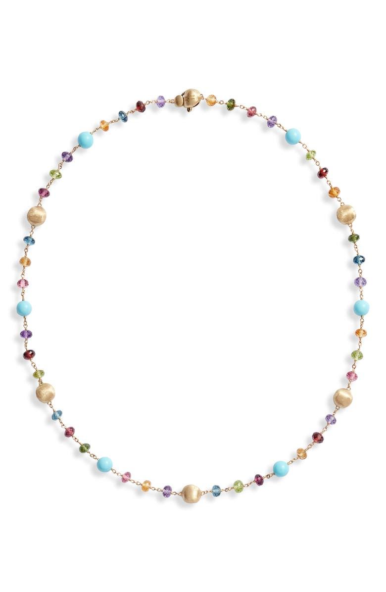 MARCO BICEGO Africa Semiprecious Stone Collar Necklace, Main, color, 710