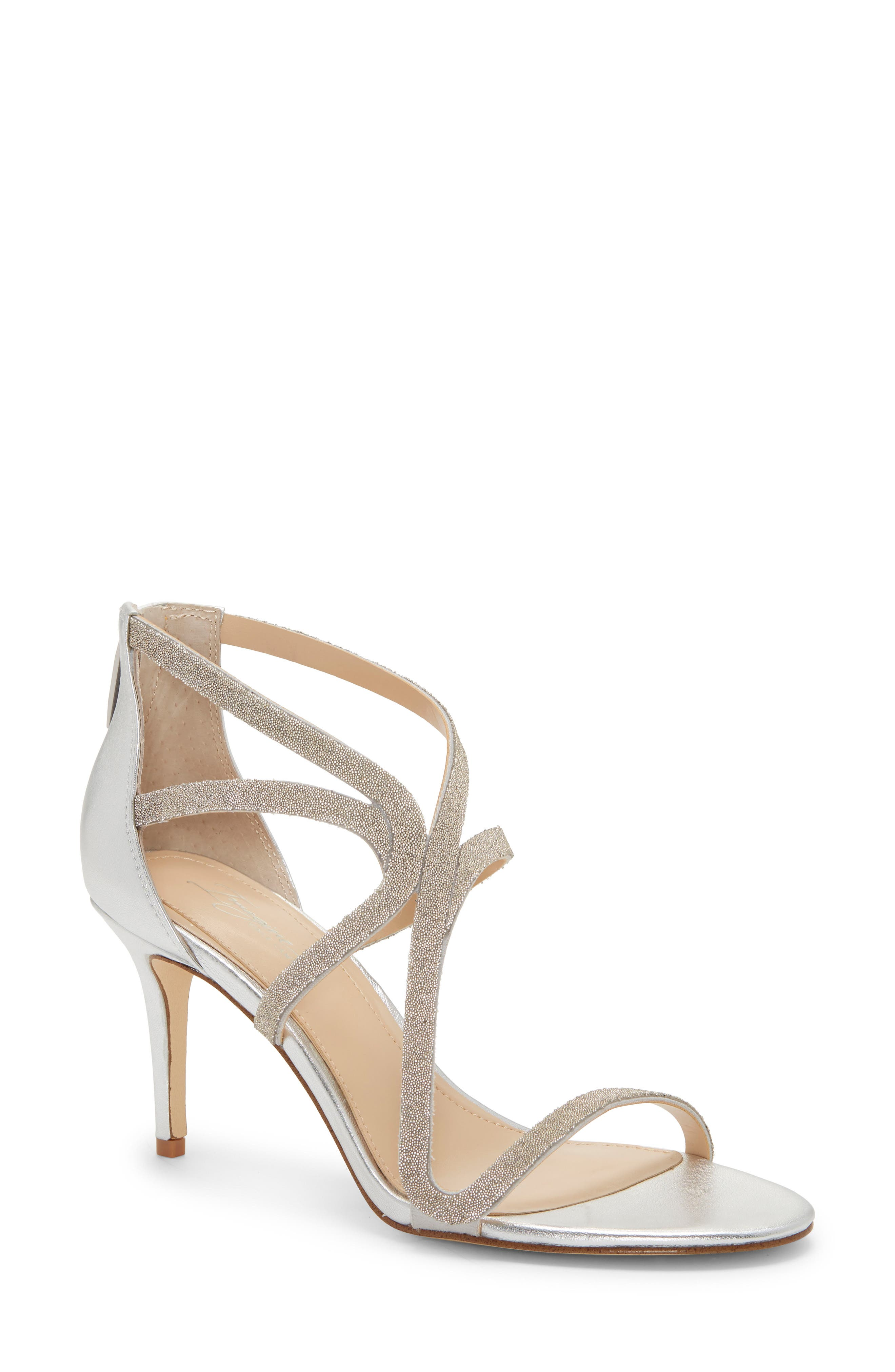 Imagine By Vince Camuto Petara Strappy Sandal- Metallic