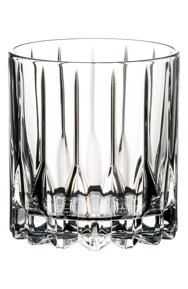 RIEDEL Drink Specific Glassware Set of 2 Neat Glasses, Main, color, CLEAR