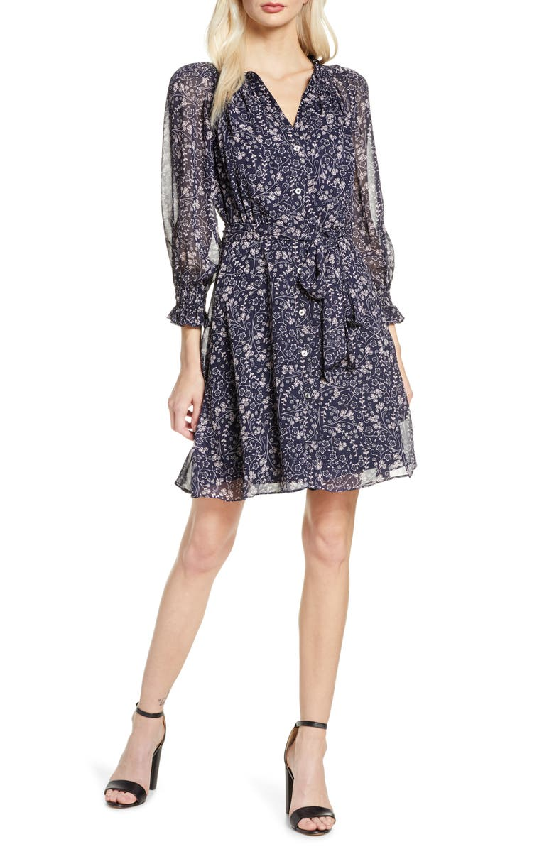 Chelsea 28 Floral Long Sleeve Dress by Chelsea28