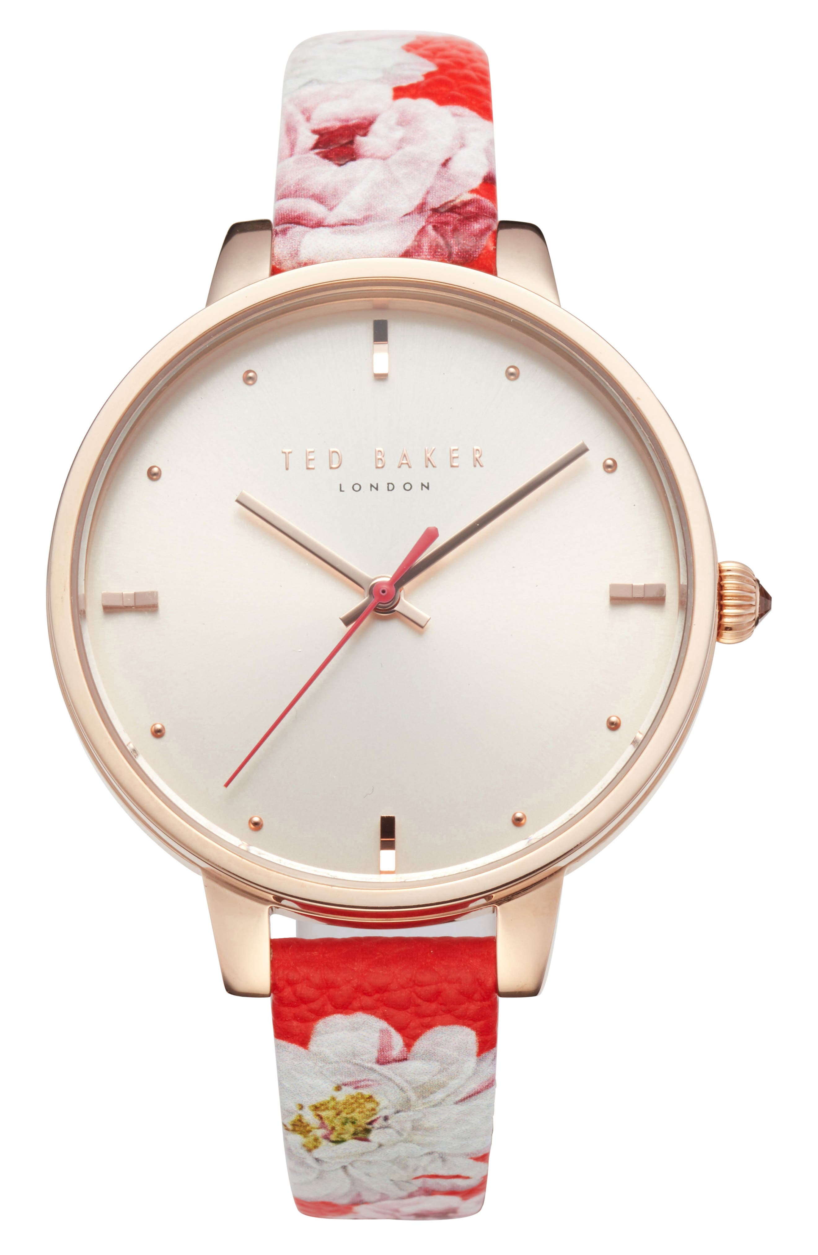 Image of Ted Baker London Women's Kate Leather Strap Watch, 36mm