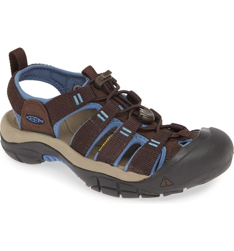 KEEN Newport H2 Water Friendly Sandal, Main, color, MULCH/ QUIET HARBOR