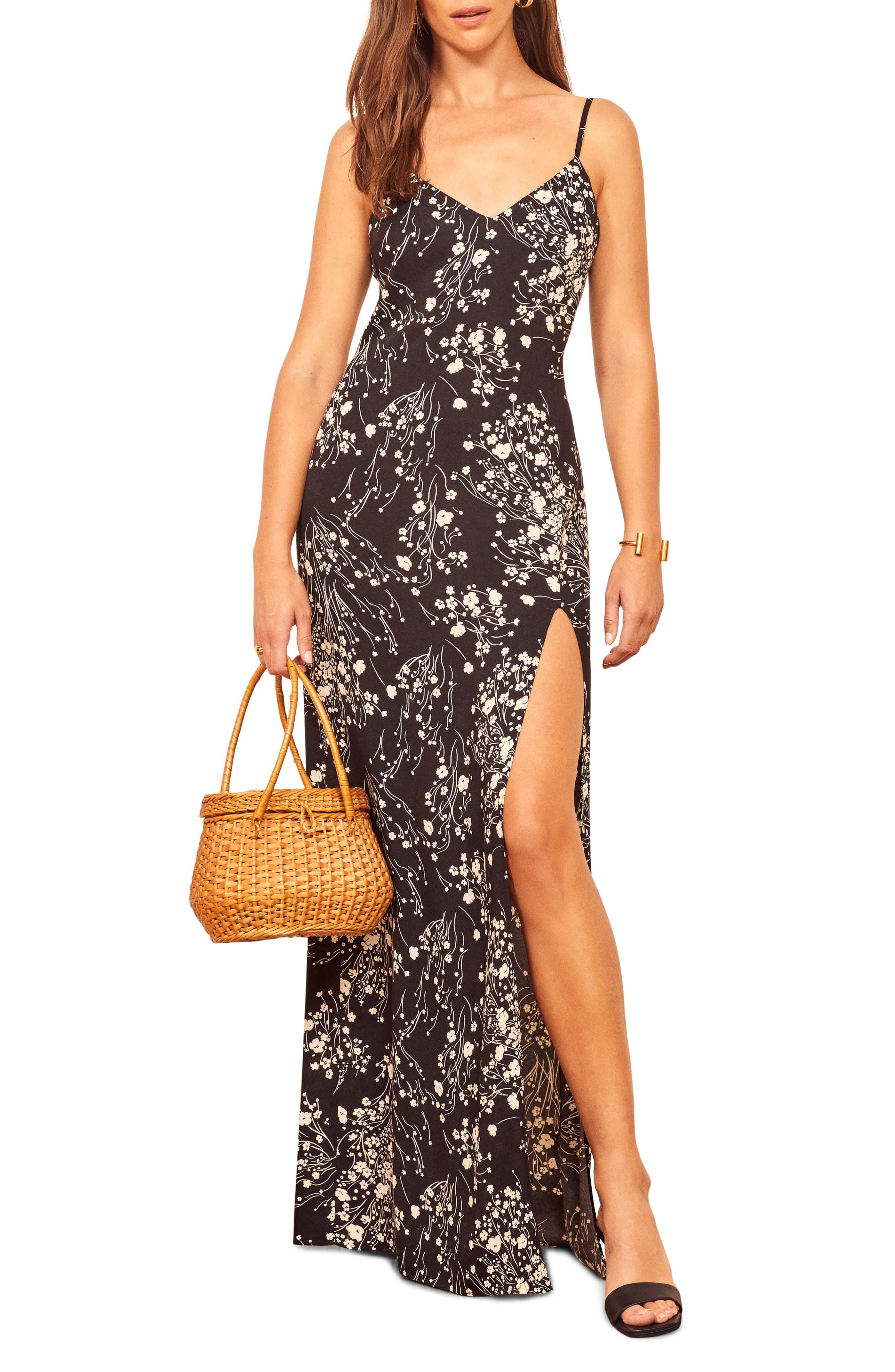 Harlowe V Neck Maxi Dress by Reformation