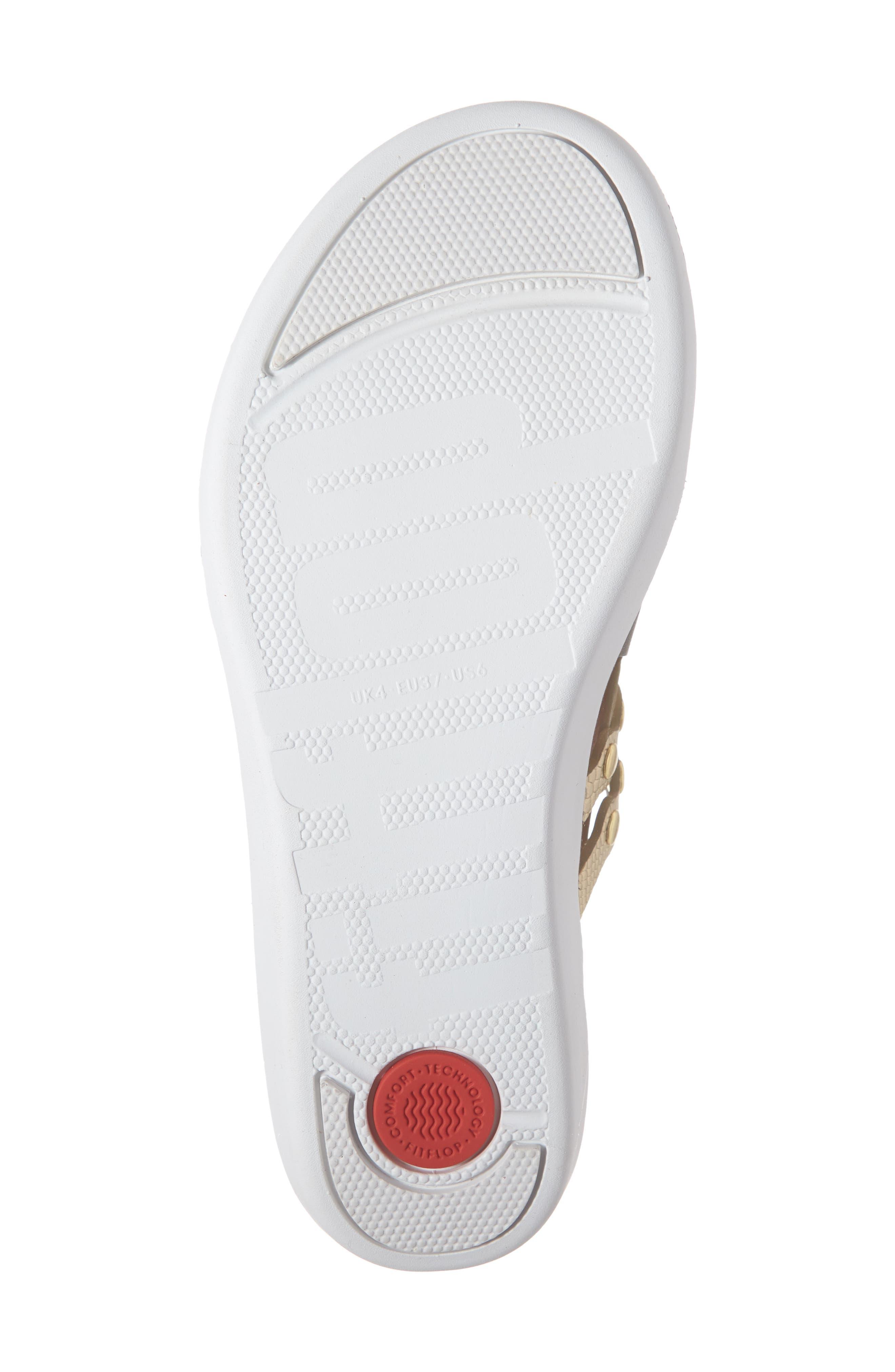 ,                             Scallop Embellished Sandal,                             Alternate thumbnail 18, color,                             353