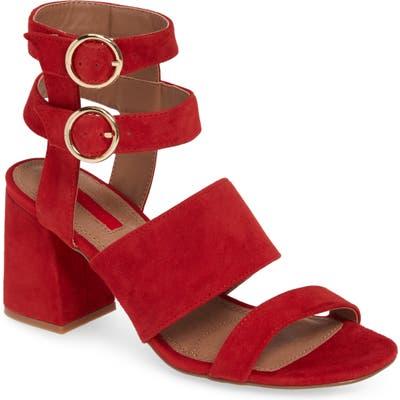 Topshop Nevada Sandal - Red