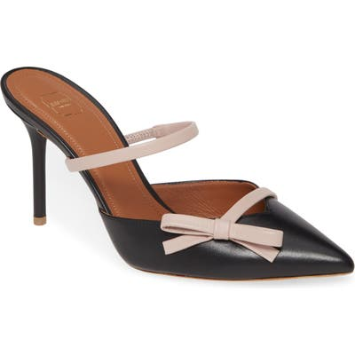Malone Souliers Bow Band Pump - Black