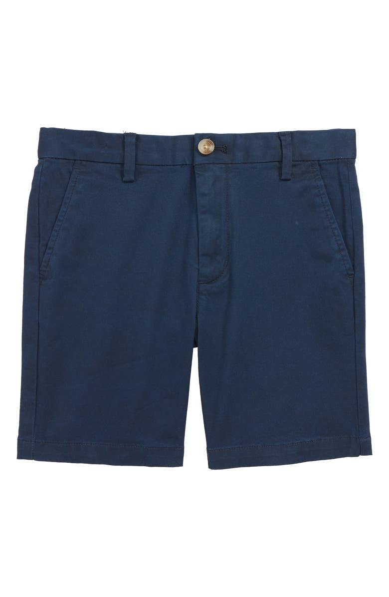 VINEYARD VINES Stretch Breaker Shorts, Main, color, VINEYARD NAVY