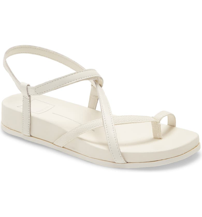 DOLCE VITA Rhyan Sport Sandal, Main, color, WHITE LEATHER