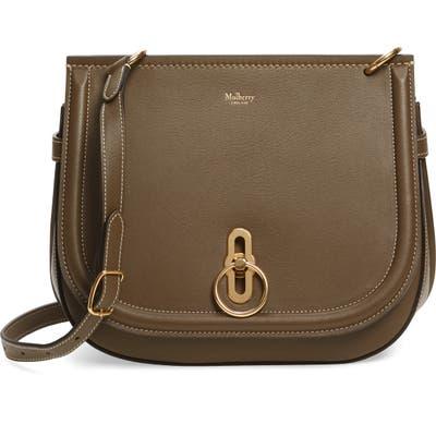 Mulberry Amberley Leather Crossbody Bag - Grey