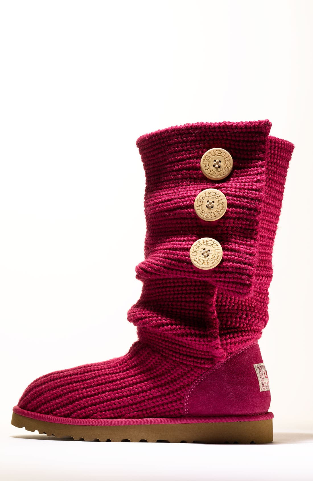 ,                             'Cardy' Classic Knit Boot,                             Alternate thumbnail 56, color,                             620