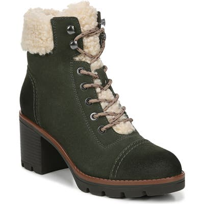 Naturalizer Varuna 2 Waterproof Lace-Up Bootie W - Green