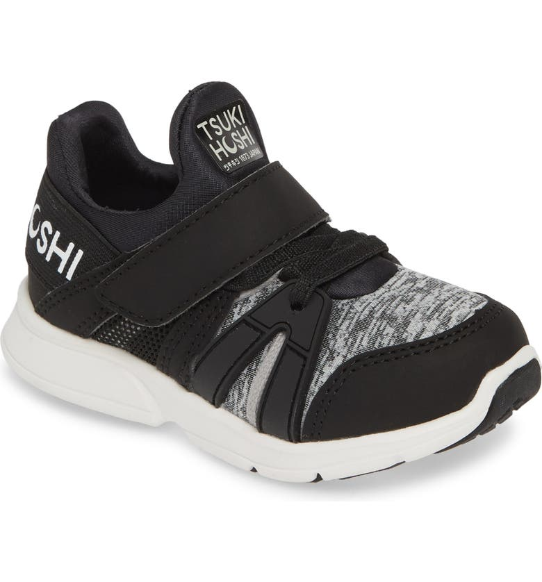 TSUKIHOSHI Ignite Washable Sneaker, Main, color, BLACK/ GRAY
