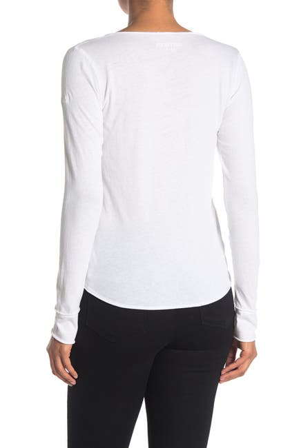 Image of Zadig & Voltaire Tunisien Amour Long Sleeve T-Shirt