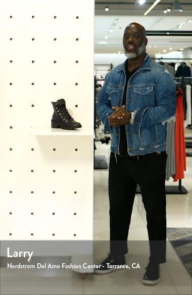 Tatum Faux Fur Lined Lug Bootie, sales video thumbnail