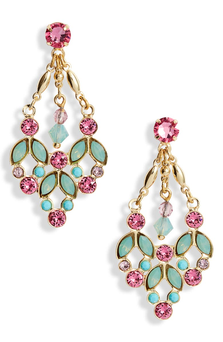 SORRELLI Terina Chandelier Earrings, Main, color, 710