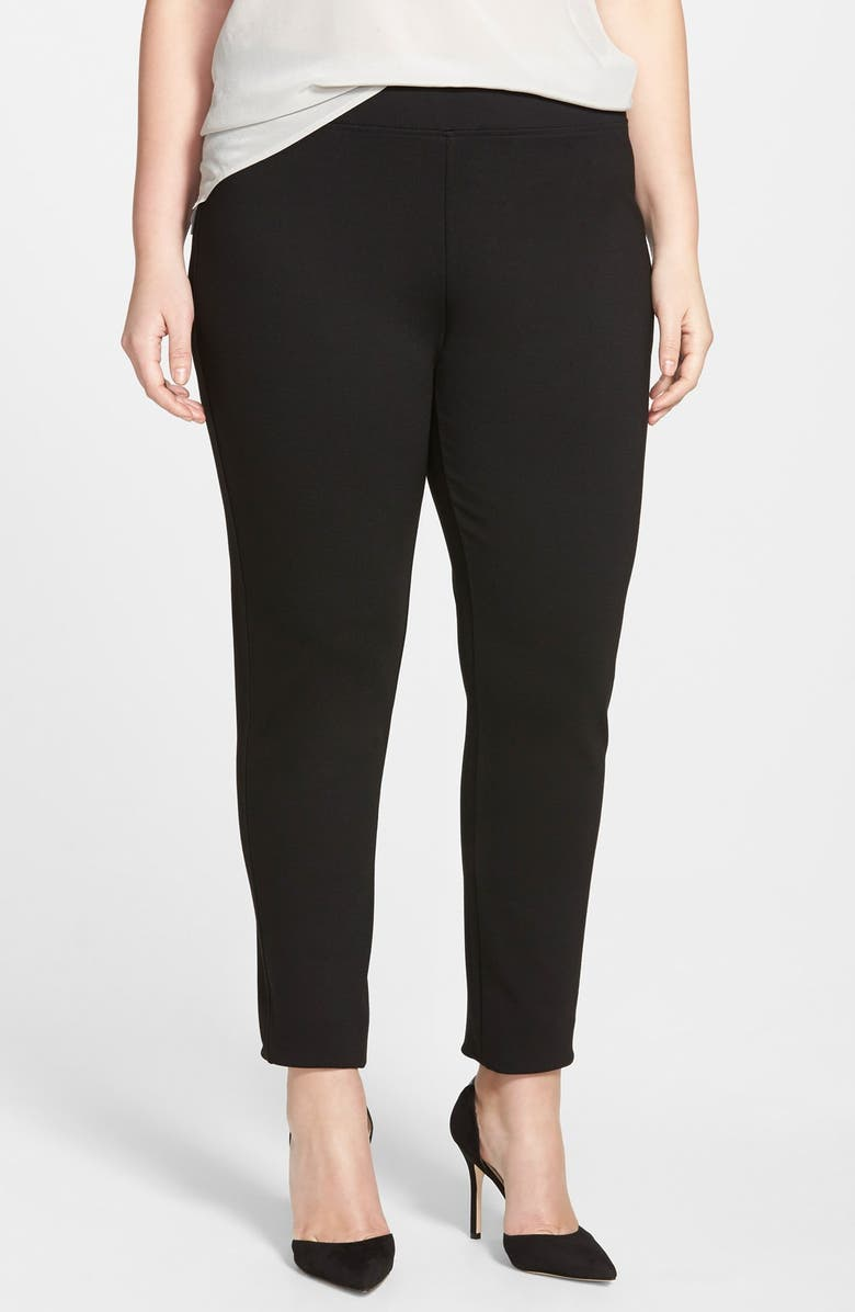 NIC+ZOE 'The Perfect' Leggings, Main, color, BLACK ONYX
