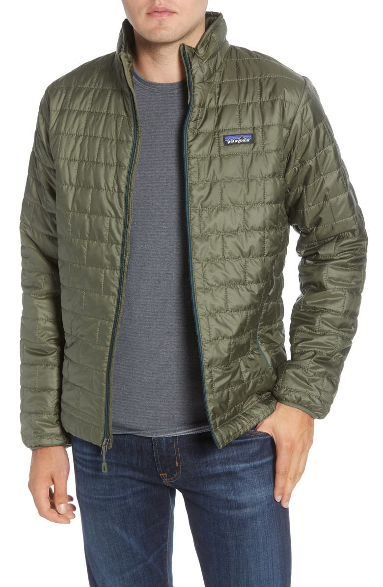 PATAGONIA Nano Puff<sup>®</sup> Water Resistant Jacket, Main, color, INDUSTRIAL GREEN